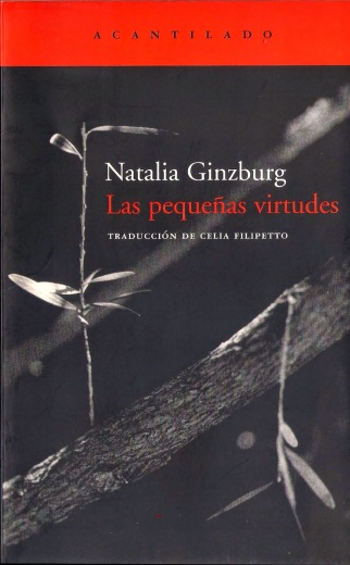 Pequeñas Virtudes Natalia Ginzburg