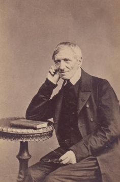 CARDINAL JOHN HENRY NEWMAN PICTURED IN 1865 PHOTO